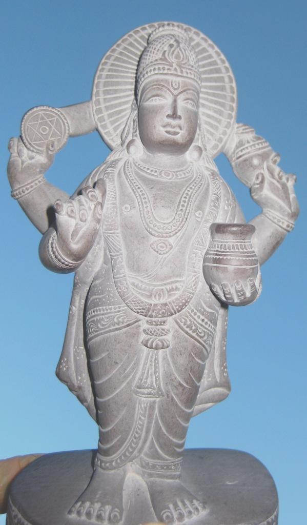 Gott des Ayurveda